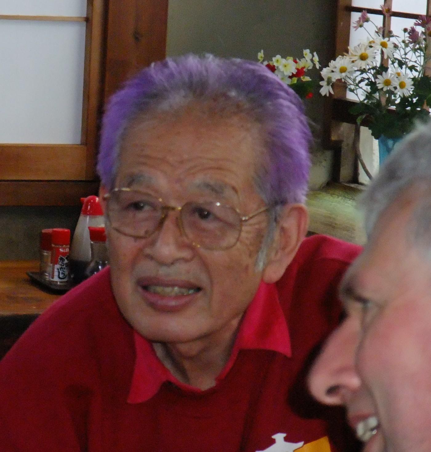 Sensei with Peter King